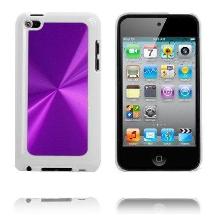 Alumiininen Glare Violetti Ipod Touch 4 Suojakuori