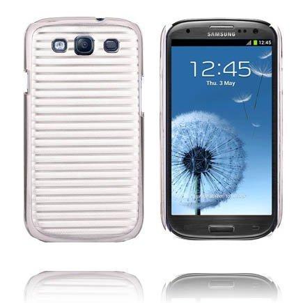 Alumiininen Tausta Ver. Ii Hopea Samsung Galaxy S3 Suojakuori