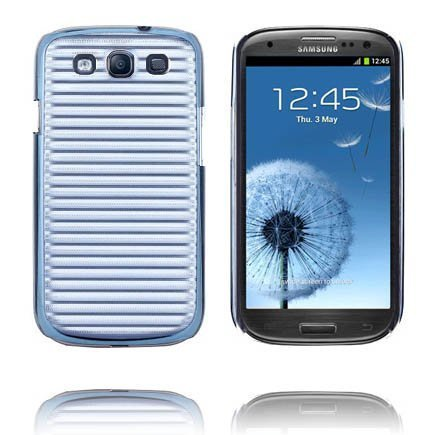 Alumiininen Tausta Ver. Ii Sininen Samsung Galaxy S3 Suojakuori
