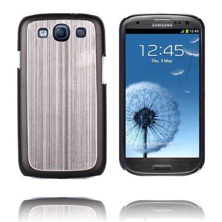 Alumiininen Tausta Ver. Iii Hopea Samsung Galaxy S3 Suojakuori
