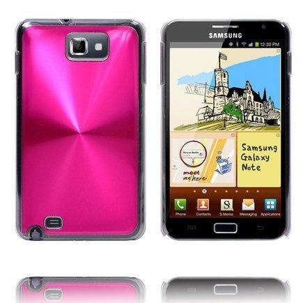 Alumiinisuoja Kuuma Pinkki Samsung Galaxy Note Suojakuori