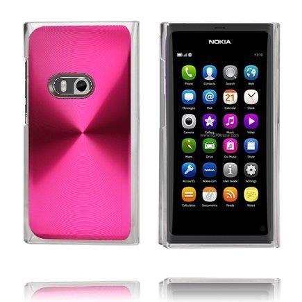 Alumiinisuoja Pinkki Nokia N9 Suojakuori