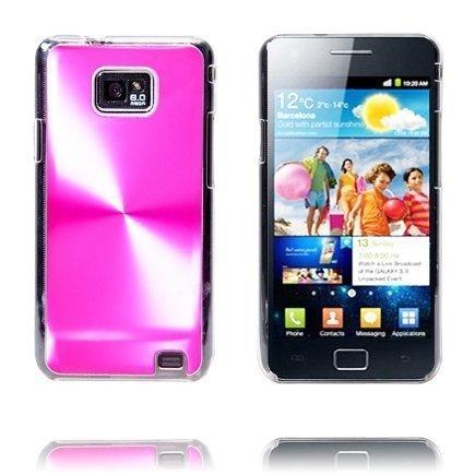 Alumiinisuoja Pinkki Samsung Galaxy S2 Suojakuori