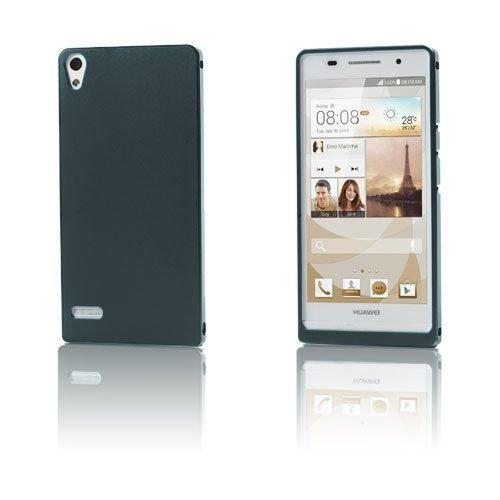 Alux Harmaa Huawei Ascend P6 Alumiininen Suojakuori