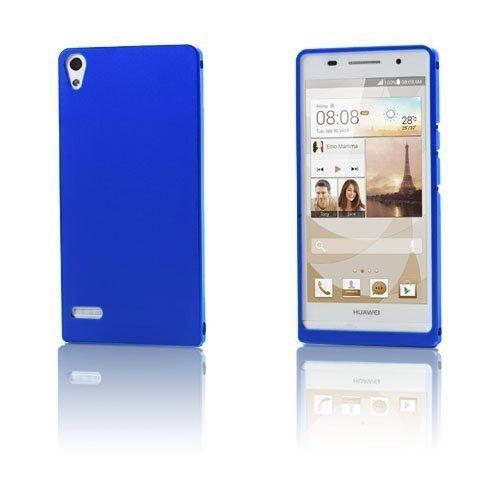 Alux Sininen Huawei Ascend P6 Alumiininen Suojakuori