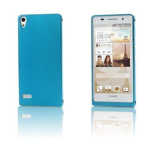 Alux Vaalea Sininen Huawei Ascend P6 Alumiininen Suojakuori