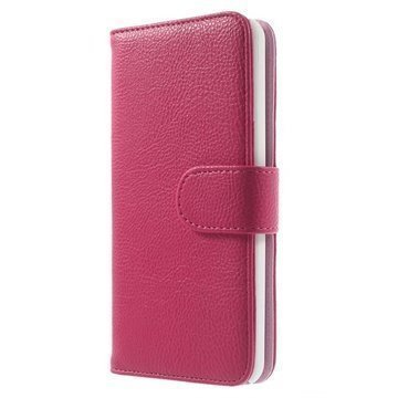 Amazon Fire Phone Wallet Nahkakotelo Kuuma Pinkki