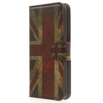 Amazon Fire Phone Wallet Nahkakotelo Union Jack