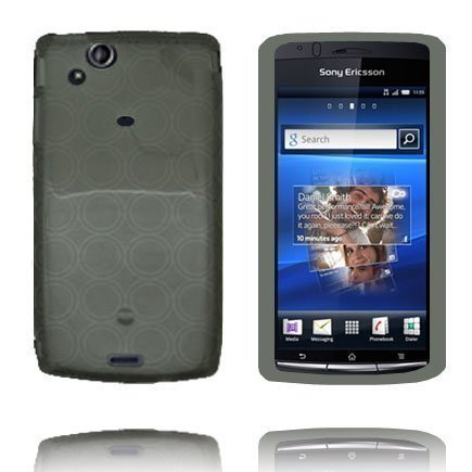 Amazon Harmaa Sony Ericsson Xperia Arc Silikonikuori