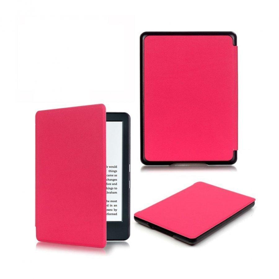 Amazon Kindle 2016 Älykäs Keinonahka Kotelo Kuuma Pinkki