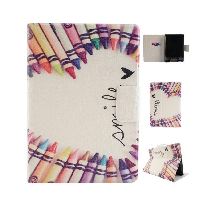 Amazon Kindle Paperwhite Älykäs Nahkakotelo Korttiaskuilla Värikynä Sydän