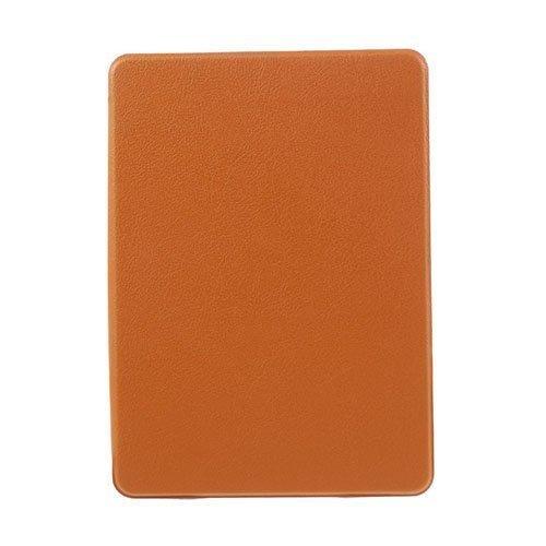 Amazon Kindle Paperwhite 3 / 2 / 1 Litsi Pintainen Nahkakotelo Läpällä Oranssi