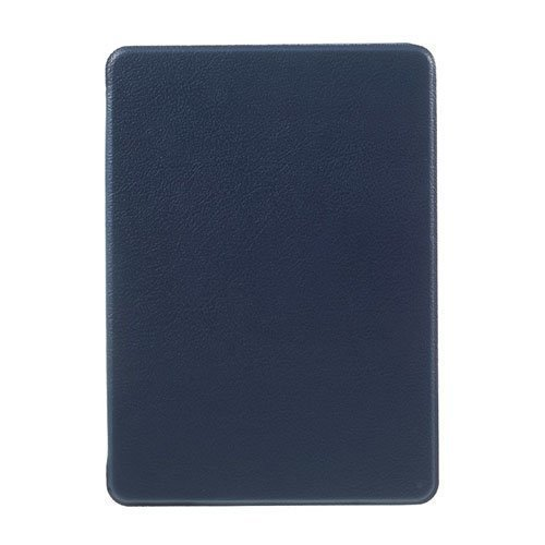 Amazon Kindle Paperwhite 3 / 2 / 1 Litsi Pintainen Nahkakotelo Läpällä Sininen