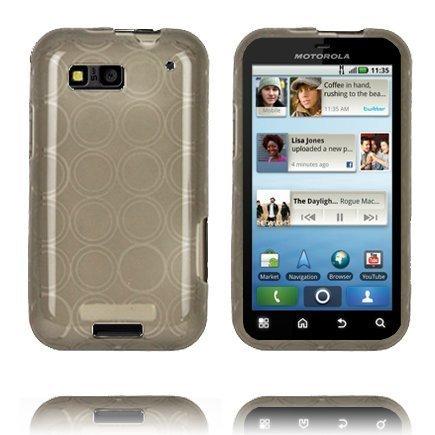 Amazona Harmaa Motorola Defy Silikonikuori