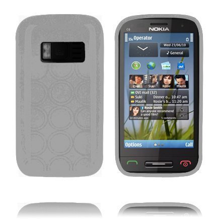 Amazona Harmaa Nokia C6-01 Silikonikuori