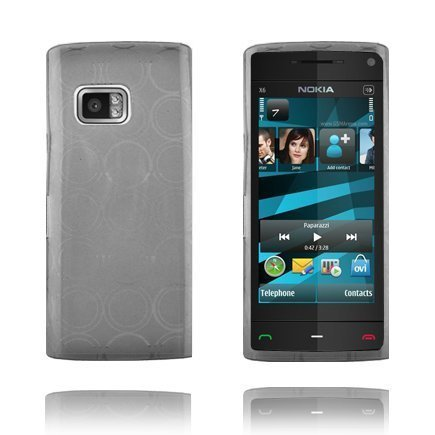 Amazona Harmaa Nokia X6 Silikonikuori
