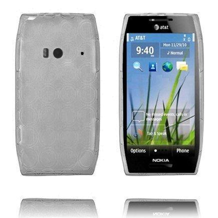 Amazona Harmaa Nokia X7 Silikonikuori