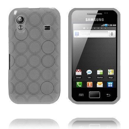 Amazona Harmaa Samsung Galaxy Ace Silikonikuori