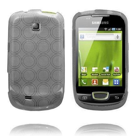 Amazona Harmaa Samsung Galaxy Mini S5570 Silikonikuori