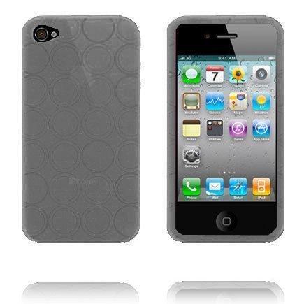 Amazona I4 Harmaa Iphone 4 Silikonikuori