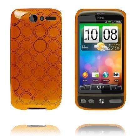 Amazona Oranssi Htc Desire G7 Silikonikuori