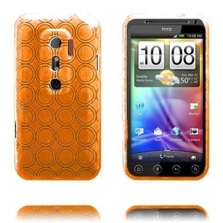Amazona Oranssi Htc Evo 3d Silikonikuori