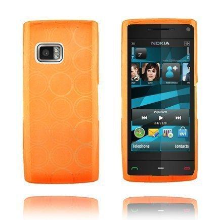 Amazona Oranssi Nokia X6 Silikonikuori