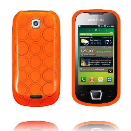 Amazona Oranssi Samsung Galaxy 3 Silikonikuori