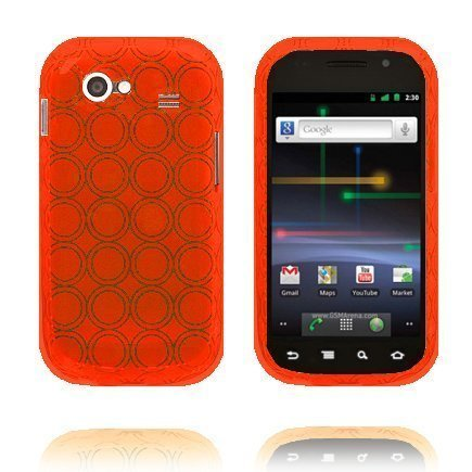 Amazona Oranssi Samsung Nexus S Silikonikuori