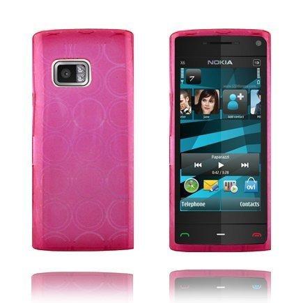Amazona Pinkki Nokia X6 Suojakuori