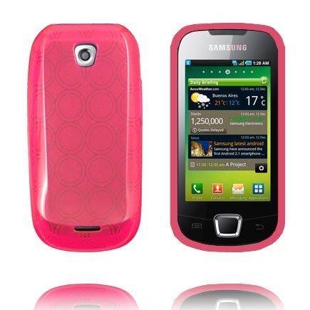 Amazona Pinkki Samsung Galaxy 3 Suojakuori