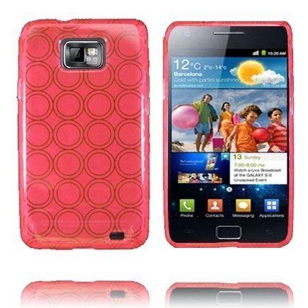Amazona Pinkki Samsung Galaxy S2 Suojakuori