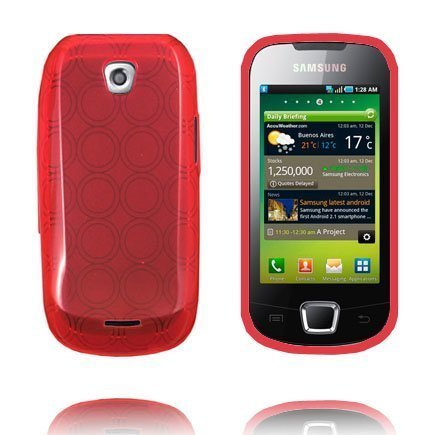 Amazona Punainen Samsung Galaxy 3 Silikonikuori