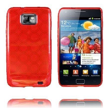 Amazona Punainen Samsung Galaxy S2 Silikonikuori