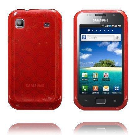 Amazona Punainen Samsung Galaxy Sl Silikonikuori