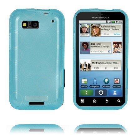 Amazona Sininen Motorola Defy Silikonikuori