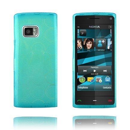 Amazona Sininen Nokia X6 Silikonikuori