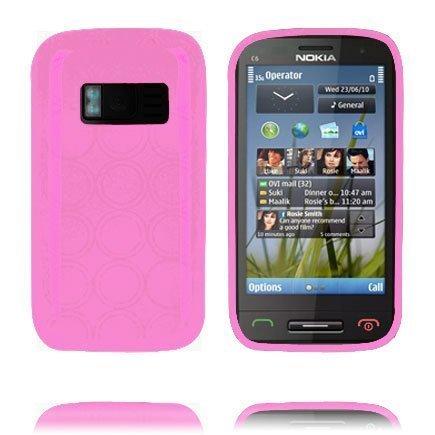 Amazona Vaaleanpunainen Nokia C6-01 Suojakuori