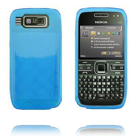 Amazona Vaaleansininen Nokia E72 Silikonikuori