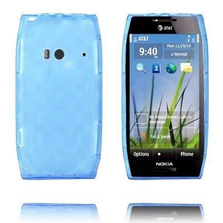 Amazona Vaaleansininen Nokia X7 Silikonikuori