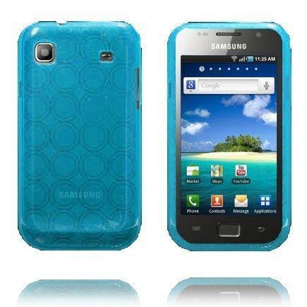 Amazona Vaaleansininen Samsung Galaxy Sl Silikonikuori