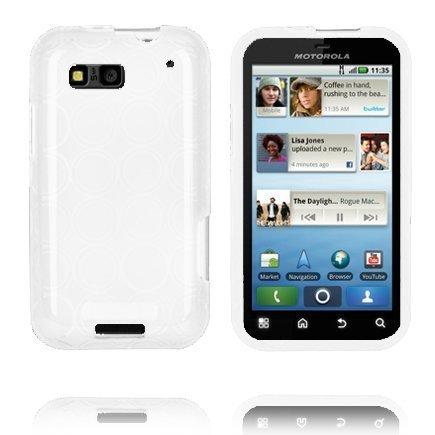 Amazona Valkoinen Motorola Defy Silikonikuori