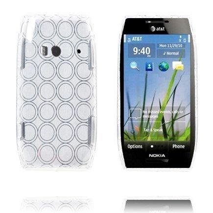Amazona Valkoinen Nokia X7 Silikonikuori