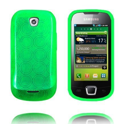 Amazona Vihreä Samsung Galaxy 3 Silikonikuori