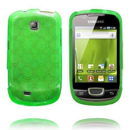 Amazona Vihreä Samsung Galaxy Mini S5570 Silikonikuori