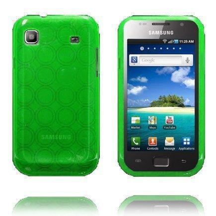 Amazona Vihreä Samsung Galaxy Sl Silikonikuori