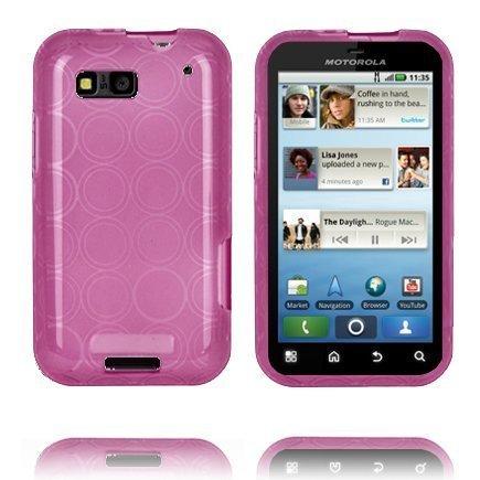 Amazona Violetti Motorola Defy Silikonikuori