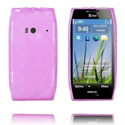 Amazona Violetti Nokia X7 Silikonikuori