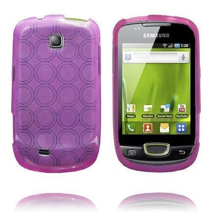 Amazona Violetti Samsung Galaxy Mini S5570 Silikonikuori