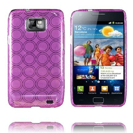 Amazona Violetti Samsung Galaxy S2 Silikonikuori